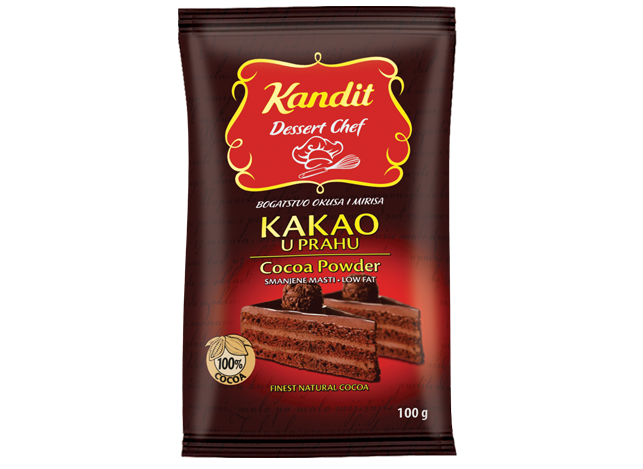 Kandit Dessert Chef reduced fat cocoa